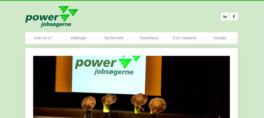 Velkommen til Powerjobsøgernes nye hjemmeside!